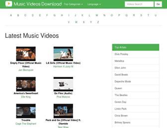 music-videos-download.com screenshot