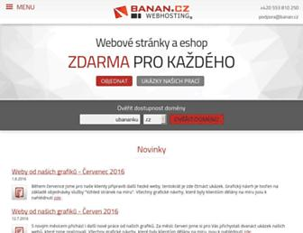 Fullscreen thumbnail of banan.cz