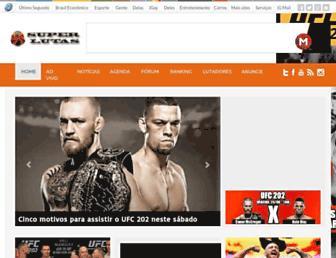superlutas.com.br screenshot