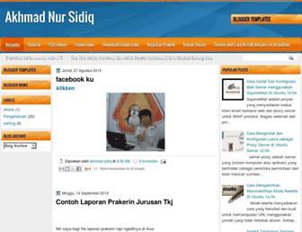 akhmadnursidiq.blogspot.com screenshot