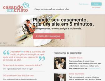 Thumbshot of Casandoemcristo.com