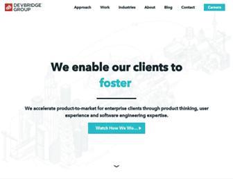 devbridge.com screenshot
