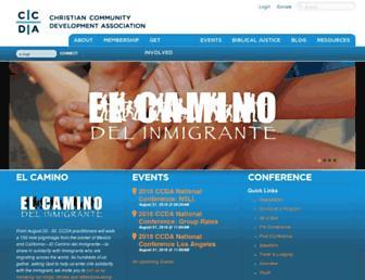ccda.org screenshot
