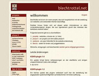 blechtrottel.net screenshot