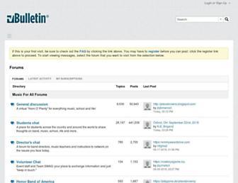forums.musicforall.org screenshot