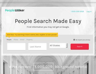 peoplelooker.com screenshot