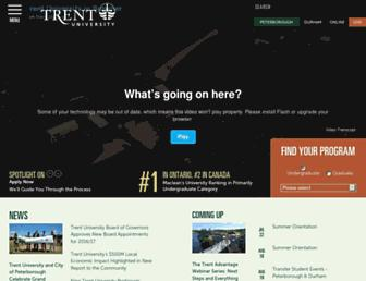 Thumbshot of Trentu.ca