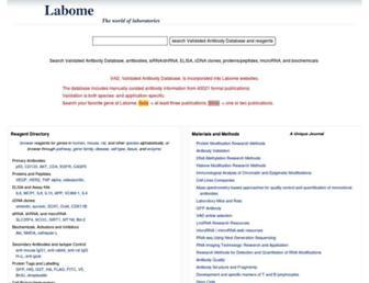 labome.com screenshot