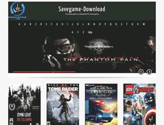 savegame-download.com screenshot
