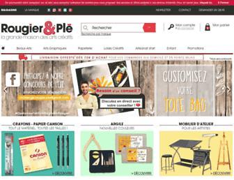 rougier-ple.fr screenshot