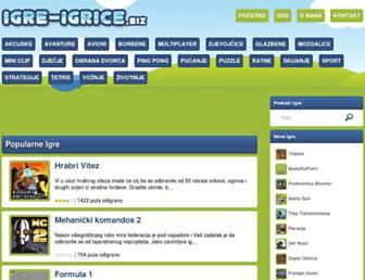 igre-igrice.biz screenshot