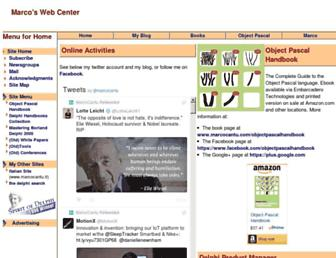 marcocantu.com screenshot