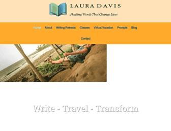 lauradavis.net screenshot