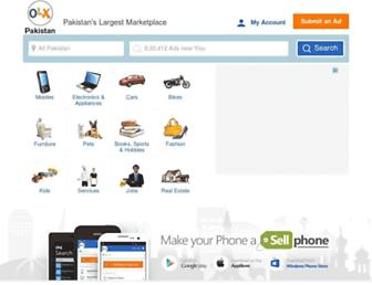 Thumbshot of Olx.com.pk