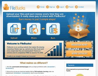 filebucks.org screenshot