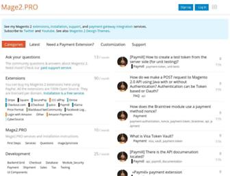 mage2.pro screenshot