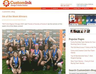 blog.customink.com screenshot