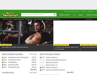 Thumbshot of Rottentomatoes.com