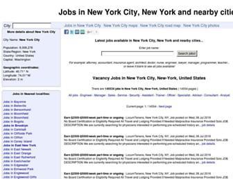 jobs.maps-streetview.com screenshot