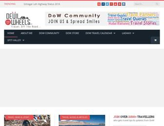 Thumbshot of Devilonwheels.com