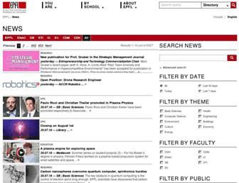 actu.epfl.ch screenshot