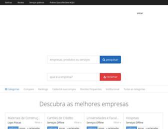 reclameaqui.com.br screenshot