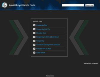 Thumbshot of Kavkiskeychecker.com