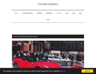 best-selling-cars.com screenshot