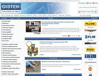 distek.ro screenshot
