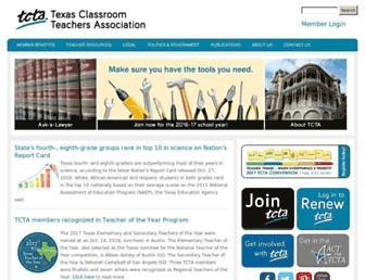 tcta.org screenshot