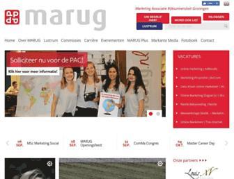 marug.nl screenshot