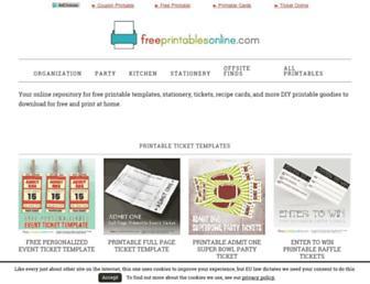freeprintablesonline.com screenshot
