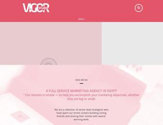 vigorstudio.com screenshot