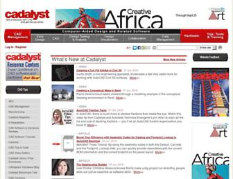 cadalyst.com screenshot