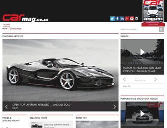 carmag.co.za screenshot