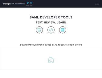 samltool.com screenshot