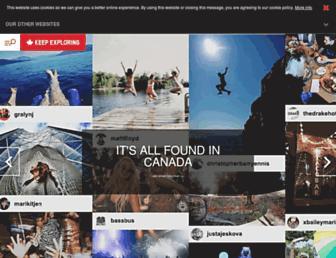 us-keepexploring.canada.travel screenshot