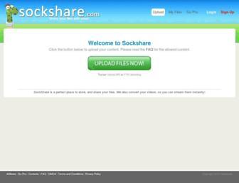 Thumbshot of Sockshare.com