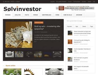 soelvinvestor.dk screenshot