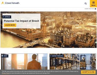 Thumbshot of Crowehorwath.com