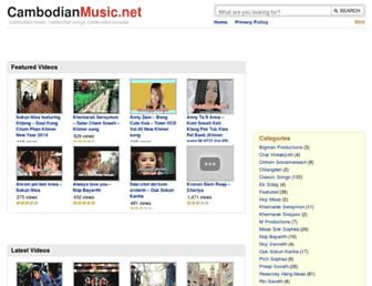 cambodianmusic.net screenshot