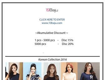 Thumbshot of 10baju.com