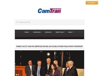 camtranbus.com screenshot