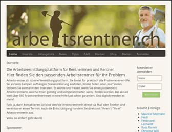 arbeitsrentner.ch screenshot