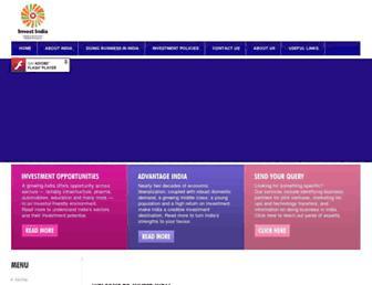 investindia.gov.in screenshot