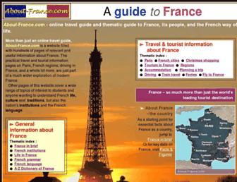 about-france.com screenshot