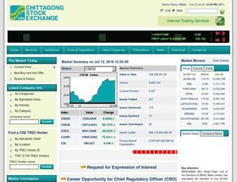 cse.com.bd screenshot