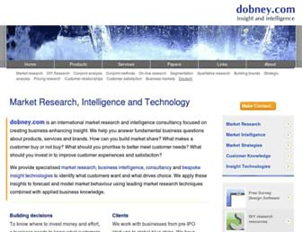 dobney.com screenshot
