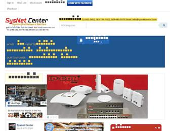 sysnetcenter.com screenshot