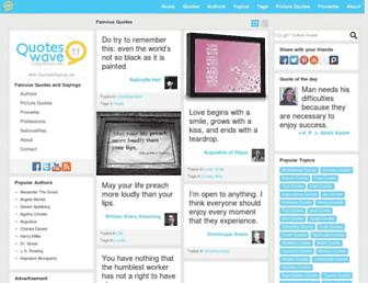 Thumbshot of Quoteswave.com